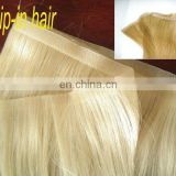 Wholesale Grade 7A 100% Brazilian Skin Weft Tape Remy Hair Extensions