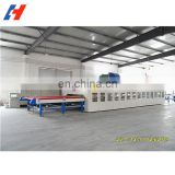 Forced Convection Horizontal Glass Tempering Furnace/Glass Toughening Machine For Tempered Glass