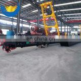 Small sand dredging machine dredger with hydraulic system