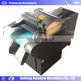 fresh meat cube cutting machine / Low Price chicken dicing machine/factory price electric meat and bone mincer