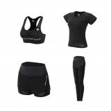 Female Sport Suit Women Fitness Clothing Sport Wear Yoga Set Gym Jogging Suits Sportswear Running Leggings Women
