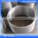 Cheap Usa Razor Barb Wire Manufacturer Razor Blade Wire For Sale Cross Razor Wire Made In China