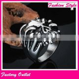 Customized best sell cheap casting skull ring                                                                         Quality Choice