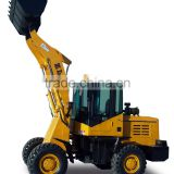 Hot sale 1.6 t cheap mini front loader used wheel loaders made in China for sale with CE construction machinery