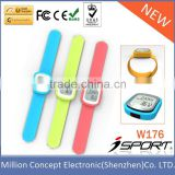 Sport Silicone Bracelet Pedometer Step Counter Watch