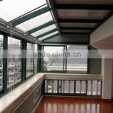aluminium terrace glass sunroom modern style for house