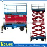 China top manufacturer window cleaning scissor lift platform