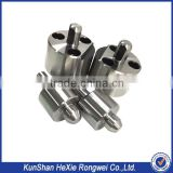 Factory anodized metal aluminum cnc lathe parts of machining service