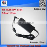 Brand Orignial 19V 3.42A 90W AC Adapter For Acer 4736ZG 4738G PA-1900-04 Notebook Power Supply