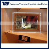 super bright PMMA crystal light box, acrylic decorative light boxes/desk top crystal led panel light box