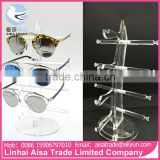 2 Layers 3 Layers 4 Layers China Supplier Display Transparent Acrylic Spectacles Glasses Display Stand