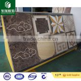 different color materials composite tile laminated tile for wall showeroom water jet pattern