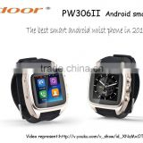 2016 Popular Android Smart watch with CST dual core 1.54 Touch screen Watch mobile phone wearable device wrist watch phone