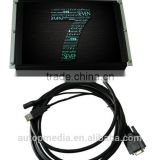 TS-104A 10.4 inch HDMI touchscreen monitor with GPS navigation and safety monitoring system .