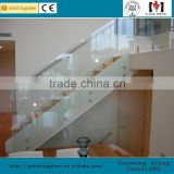 Alibaba golden supplier for 11 years popular design frameless glass deck railing with high quality GM-C289
