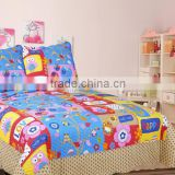 Pujiang girls quilt wholesale china bedding set baby