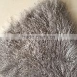 Long and Curly hair Tibet Lamb Fur Plate Mongolia Fur Rug Room Carpet
