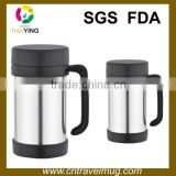 450ML double wall stainless steel thermos vacuum office coffee mug with handle