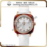 Swiss women color strap ladies vintage bangle custom wrist watches wholesale