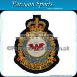 Squadron Royal Air Force Bullion Badge Handmade Embroidered Air Force Badges