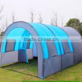 8-10 person tunnel tent 3 room outdoor family tent