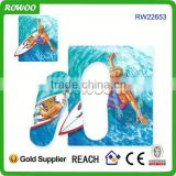Surfing beach promotion board slipper