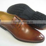 2015 leather dressing shoes for men made in China.