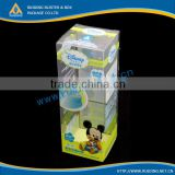 Jiangmen Clear PVC Box Printed PVC Packaging Box Customize PVC Plastic Box for Cosmetics