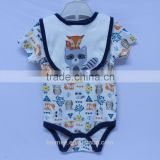 hot sale hight quality organic cotton pure color simple letter baby underwear