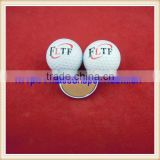 low carbon three piece tournament golf ball branded golf balls