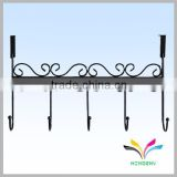 High quality wholesale clothing hanger home furniture durable decorative hanging diy metal clothes rack