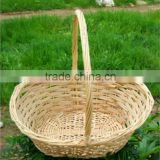 enco-friendly woven Wholesale handmade custom Laundry Basket Wicker Storage Baskets wicker baskets with handle fruit basket