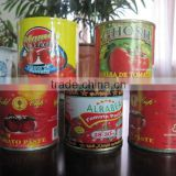 Tomato ketchup, factory direct sales, high&medium to low 198 g X48tins to Tin to the Brix 28-30%