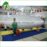Custome PVC Inflatable Helium Blimp / Zepplin / Modelling RC Airship