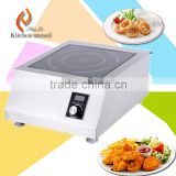 Tabletop design stainless steel electric induction stove used in hotel restaurant high efficency indctuon cooker H50PH