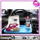 2016 multi function Car Auto Laptop Desk/car travel tray table