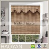 New design bamboo slat roll up blinds