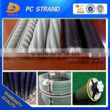 1*7 Wire Anti-corrosion Epoxy Coated Steel Strand Manufacturer