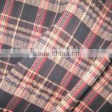 yarn dyed T/R fabric check pattern shirt fabric rayon polyester blended garment fabric