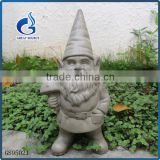 Unique fiberglass garden elf figurine resin garden gnome