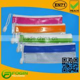 Popular Cheap Plastic Different Colors Pencil Case With Zipper                                                                         Quality Choice