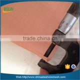 Magnetic shielding material rfid blocking copper wire mesh fabric