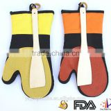 2016 hot sale heat resistant silicone oven mitten support Trade Assurance                                                                         Quality Choice