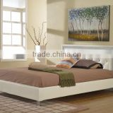 Modern bedroom furniture,Bedroom furniture set,white leather king size beds MB8006                                                                         Quality Choice