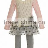 Party dress for baby girl winter clothing lace trendy garment baby girl outfit daily dress