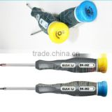 Hot sale soft plastic handle phillips repairing screwdriver for iphone4 (BK-362 phillips with the size of 1.2mm and T6)