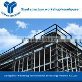 Prefabricated steel structure warehouse / construction design steel structure / steel frame