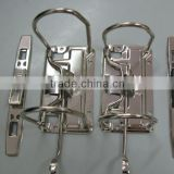 Lever arch file mechanism clips