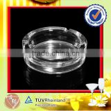Hot Sale Transparent Clear Round Ashtray Glass                                                                         Quality Choice