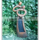 wholesale most selling product lover statue garden water fountains